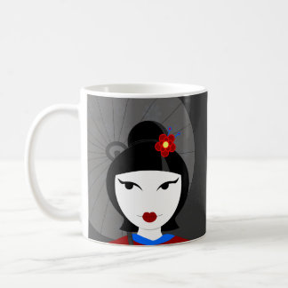 Cute Geisha Coffee Mug