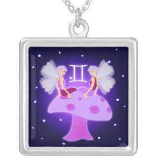 Cute Gemini Zodiac Necklace