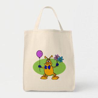 Cute Gentleman Martian Bags