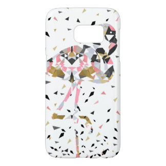 Cute geometric Flamingo abstract design