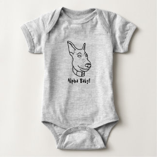 Cute German Shepherd Bodysuit