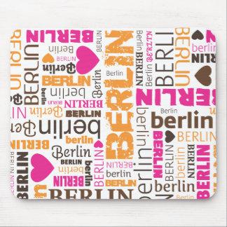 Cute germany berlin souvernir mousepad