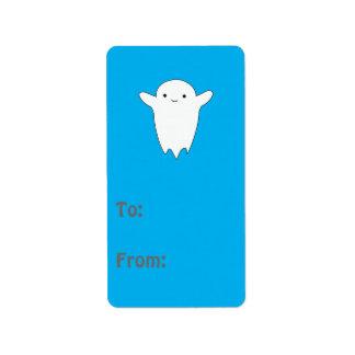 Cute Ghost Address Label