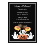 Cute Ghost Halloween Party Invitation