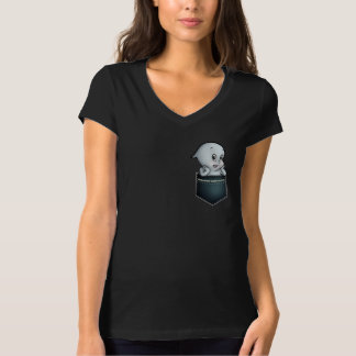 Cute Ghost in your pocket T-Shirt