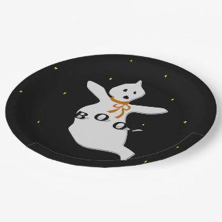 Cute Ghost Paper Plate