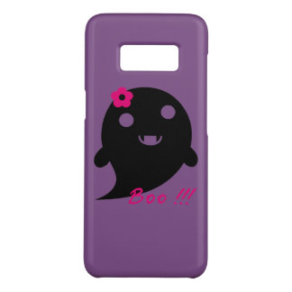 """Cute  Ghost With Flower And Word """"Boo"""" Case-Mate Samsung Galaxy S8 Case"""