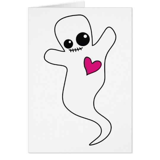 Cute Ghostie Card