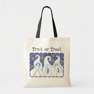 Cute Ghosts Halloween Trick or Treat bags! Tote Bag