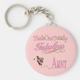 Cute Gifts For Aunts Basic Round Button Key Ring