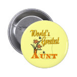 Cute Gifts For Aunts Pinback Button