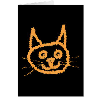 Cute Ginger Cat. Card