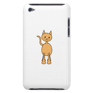 Cute Ginger Cat. Orange Cat Cartoon. iPod Case-Mate Case