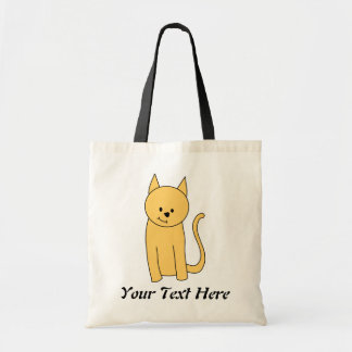 Cute Ginger Cat. Tote Bag