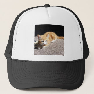 Cute Ginger Kitten Trucker Hat
