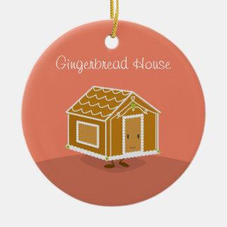 Cute Gingerbread House on an ornament