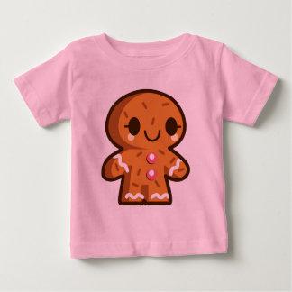 Cute Gingerbread Man Christmas Babies Shirt