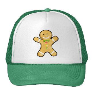 Cute gingerbread man cookie cap