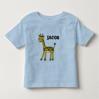 cute giraffe- add your child's name toddler T-Shirt