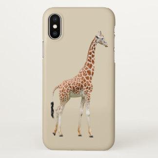 Cute Giraffe Animal Theme iPhone X Case