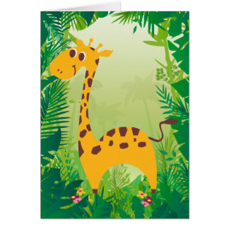Cute Giraffe Cards