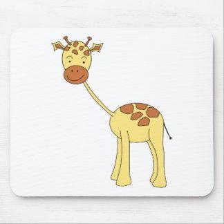Cute Giraffe. Cartoon. Mouse Mat