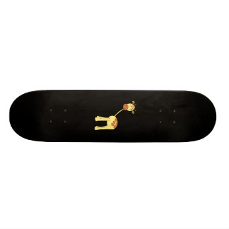 Cute Giraffe. Cartoon. Skate Deck