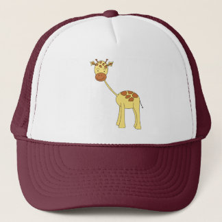 Cute Giraffe. Cartoon. Trucker Hat