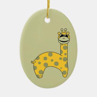 Cute Giraffe Christmas Ornament