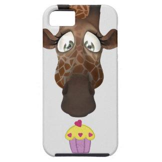 Cute Giraffe & Cupcake iPhone 5 Case