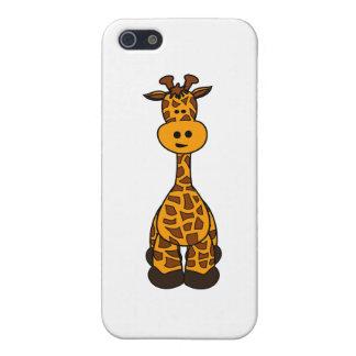 Cute Giraffe Design iPhone 5/5S Cases