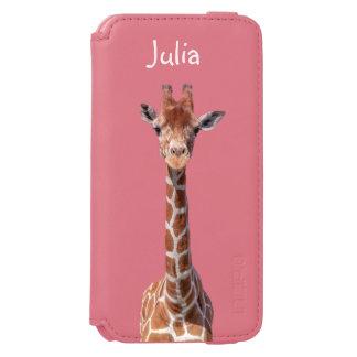Cute giraffe face incipio watson™ iPhone 6 wallet case