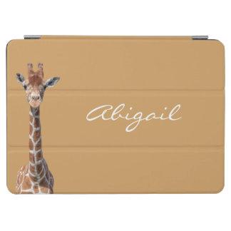 Cute giraffe face iPad air cover