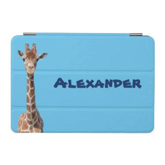 Cute giraffe face iPad mini cover