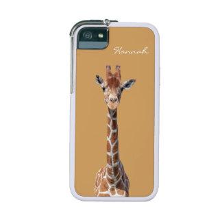 Cute giraffe face iPhone 5 case