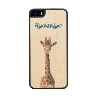 Cute giraffe face iPhone 6 plus case