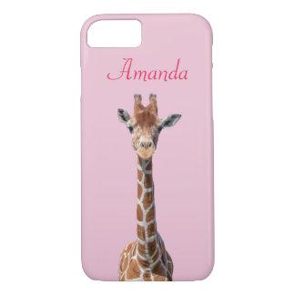 Cute giraffe face iPhone 7 case