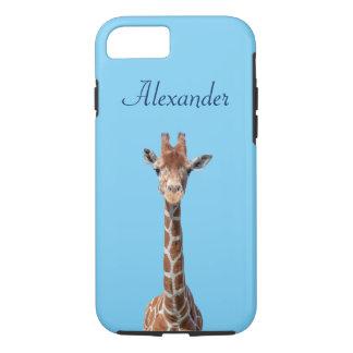 Cute giraffe face iPhone 8/7 case