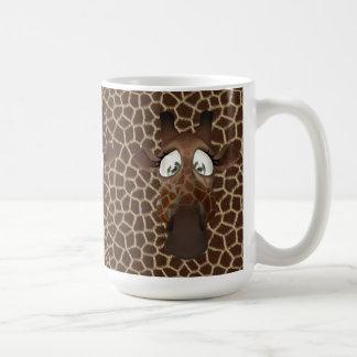 Cute Giraffe Faces Animal Fur Pattern Mug