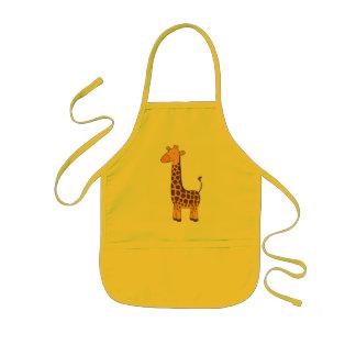 Cute Giraffe Kids Apron