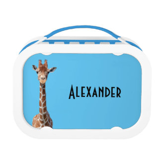 Cute giraffe lunch box