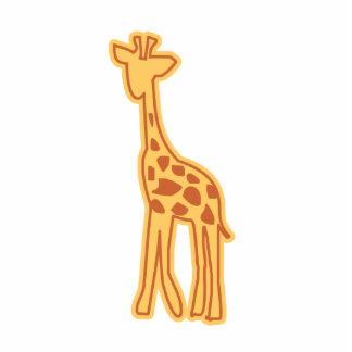 Cute Giraffe Magnet Sculpture Acrylic Cut Out