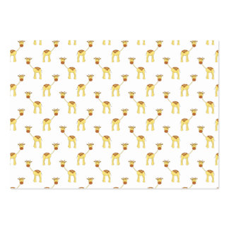 Cute Giraffe Pattern Business Cards
