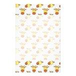 Cute Giraffe Pattern. Custom Flyer