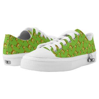 cute giraffe printed shoes