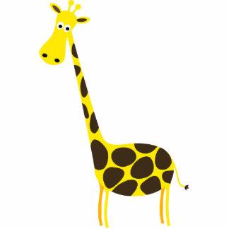 Cute Giraffe Skulpture Standing Photo Sculpture