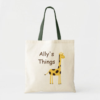 Cute Giraffe Tote Bag