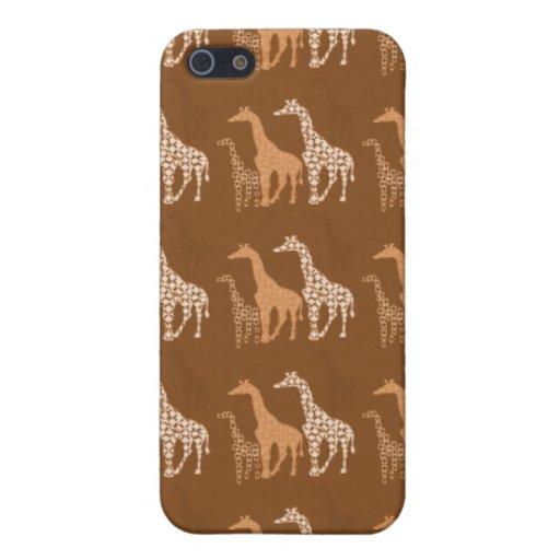 Cute Giraffe Trio Pern~ Unique Wildlife  iPhone 5 Covers