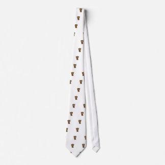 Cute Girl Beaver Tie