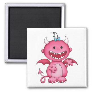 Cute Girl Devil Magnets